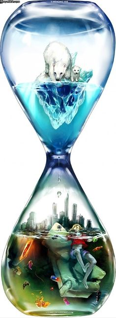 Countdown by Wenqing Yan [Yuumei art] Fantasy Kunst, Fantasy Art, Yuumei Art, Street Art, Wow Art, Art Design, Art Plastique, Oeuvre D'art, Climate Change