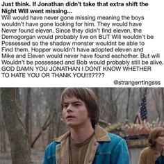 """5,727 Likes, 198 Comments - stranger things everything  (@tubular.wheeler) on Instagram: """"I would thank Jonathan. Cuz without him we would have had any Mileven :') . {creds:…"""""""