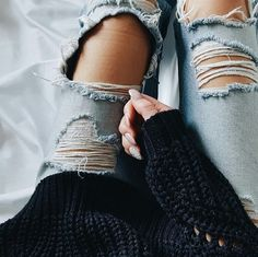 Image result for destroyed jeans in winter weather