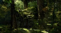 20150411 Forest, ps delux on ArtStation at https://www.artstation.com/artwork/20150411-forest