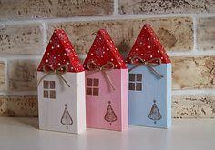 Farebné domčeky pani zimy