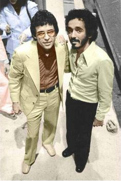 """Hector Lavoe & Willie Colon"""" The Bad Boys of Salsa. Salsa Musica, Puerto Rican Music, Willie Colon, Kid Capri, Puerto Rico History, Puerto Rican Culture, Afro Cuban, Latin Artists, Latin Music"""