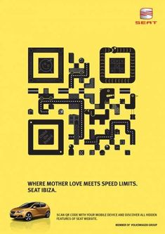The advertising world is becoming overrun with QR codes and they are usually used pretty poorly. Love them or hate them, QR codes do someti. Web Banner Design, Web Design, Free Advertising, Creative Advertising, Advertising Agency, Graphic Design Typography, Branding Design, App Promotion, Code Art