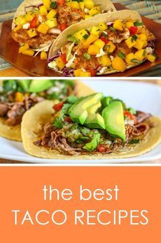 It's National Taco Day!  Instead of eating some greasy fast food tacos, why not make something healthier at home?