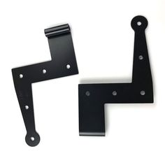 Angle stainless Strap Hinges pair many offsets