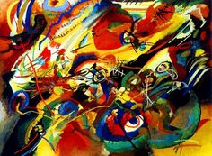 Wassily Kandinsky (1886 – 1944), the father of abstract art, also a skilled musician, strongly associated music with art. Description from pinterest.com. I searched for this on bing.com/images