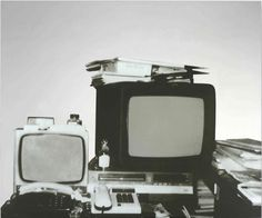 From Simon Lee Gallery, Michelangelo Pistoletto, Television Silkscreen on stainless steel, 39 × 47 in Italian Painters, Turin, Michelangelo, School Design, Gallery, Artwork, Stainless Steel, Art Paintings, Attraction