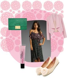 """""""pink + green"""" by onlineshoppingusa on Polyvore"""