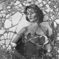 "Saatchi Art Artist Martina Rall; Photography, ""Broken"" Handsigned Photography Limited Edition of 1 + Open Edition Canvas Prints #photoart #art #NikideSaintPhalle #broken #mirror #self-portrait #SaatchiArt"