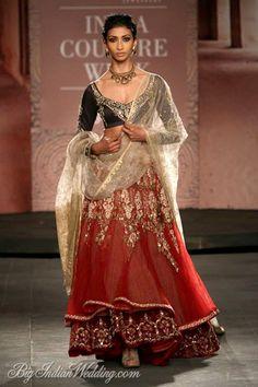Interesting,Anju Modi couture collection 2014