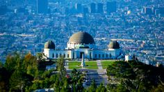 Griffith Observatory, Los Angeles by Preetham Reddy on Griffith Observatory, Opera House, Taj Mahal, Gate, Clouds, Building, Photography, Travel, Fotografie