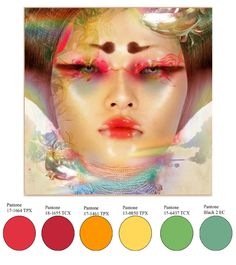 Pantone dominant colour predictions and forecast for 2015 - 2016