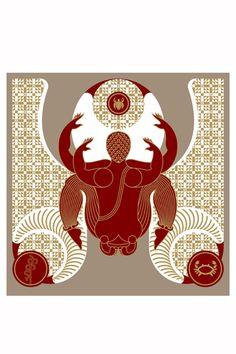 The Crab, Design Temple graphic art print