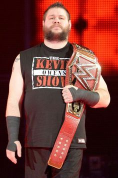 Kevin Yanick Steen aka Kevin Owens is a Canadian professional wrestler. He is signed to WWE, where he performs on the SmackDown brand under the ring name Kevin Owens and is the current United States Champion in his second reign.[4]