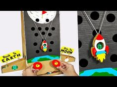 How to make Marble arcade Board Game using Cardboard, Diy Abschnitt, Cardboard Crafts, Paper Crafts, Home Made Games, Craft Projects, Crafts For Kids, Science Projects, Marble Games, Board Games For Kids, Diy Board Game