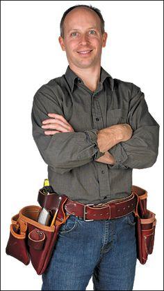 Occidental Leather® Pro Framer™ Belts & Components - Lee Valley Tools
