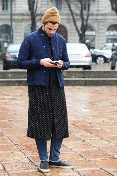 6da86896 kombi Tommy Ton, Modern Man, Well Dressed Men, Street Snap, Street Look