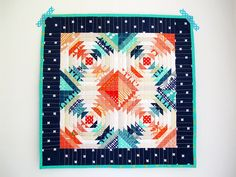 mini pineapple quilt | Flickr - Photo Sharing!