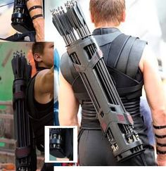 Hawkeye Quiver ~ They did a really good job on its design