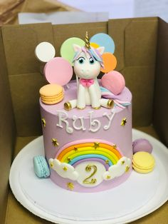 Unicorn Birthday, Birthday Cake, Unicorn Cakes, Treats, Desserts, Food, Sweet Like Candy, Birthday Cakes, Deserts