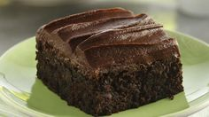 Have an abundance of zucchini in your garden? Add some to a Betty Crocker® Gluten Free brownie mix to make easy, extra-moist brownies. Topped with a fudgy frosting, they're a sweet treat!