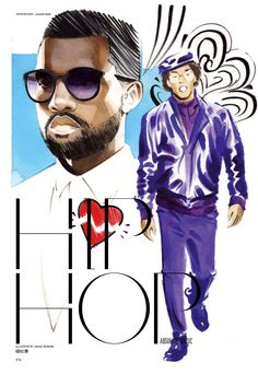 Kanye West by Isaac Bonan