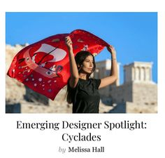 Emerging Designer spotlight: Cyclades Leto Lama Silk Scarves, Spotlight, Fashion Accessories, Luxury