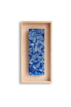 Cyanotype art poster with wooden frame, Original Works of Art Inspired by Mother Nature Art Encadrée, Art Mural, Diy Wall Art, Wall Decor, Diy Art, Natural Sources Of Light, Cyanotype Process, Impressions Botaniques, Sun Prints