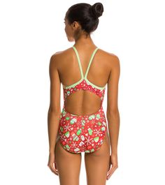 7102a2f678 Dolfin Uglies Frosty Mitten V-2 Back One Piece Swimsuit at SwimOutlet.com
