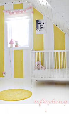 Gult er kult! Kid`s Room | fruFLY © Inspiration. Photo. Life.