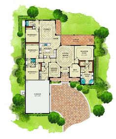 Lennar Homes SWFL - Magnolia Floor plan - Arlington Oaks, Fort Myers, FL