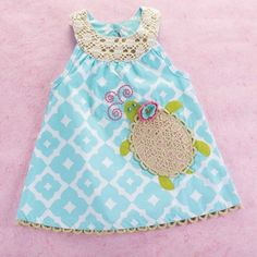 Under the Sea Turtle Dress