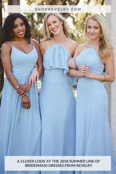 2a305428c4b These stylish summer bridesmaid dresses from the 2018 Revelry collection  get a standing ovation!