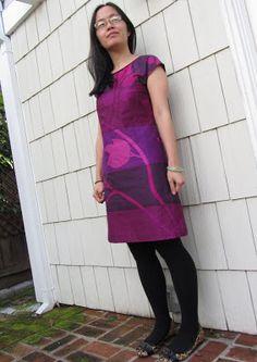 I got this Marimekko fabric for curtains!