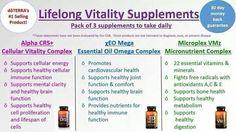 Lifelong Vitality is the foundation for a healthy life.