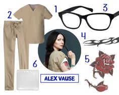 100114-Costume-Guide-AlexVause. Our 4x3 plastic badge holder was featured in this blog for a cool costume idea!