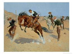 Turn Him Loose, Bill, c.1893 Frederic Sackrider Remington