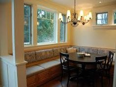 HOW TO MAKE A BANQUETTE FOR YOUR KITCHEN...I HAVE GOT TO DO THIS...TUT  BELOW: Http://inmyownstyle.com/2010/02/howto Make A Kitchen Banquette.html  ...