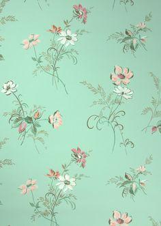 Mint Green Vintage Background 1940s vintage wallpaper