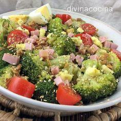 You searched for Ensalada de coliflor - Divina Cocina Salad Recipes, Diet Recipes, Vegan Recipes, Cooking Recipes, I Love Food, Good Food, Yummy Food, Deli Food, Dinner Salads