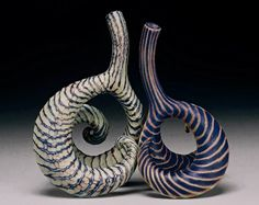 Michael Sherrill abstract bottles  http://www.veniceclayartists.com/michael-sherrill-nc-ceramicist/