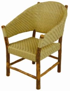 Old Hickory Sun River Outdoor Hoop Chair Rustic Outdoor Furniture, Outdoor Chairs, Old Hickory Furniture, Southwestern Home, Outdoor Ideas, Outdoor Decor, Solid Wood, Hoop, Ralph Lauren