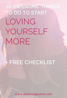 One of the most important pillars of my coaching is self love. To help you get started with loving yourself, I've made you a checklist with 20 awesome things to do. Start caring for yourself NOW. And don't forget to download the FREE checklist I made you!