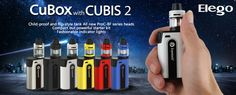 Check this Joyetech CuBox with CUBIS 2 Starter Kit, it is a compact but powerful kit. With the brand new ProC-BF series head and fashionable indicator lights, this smart kit is easy to carry everywhere you go and gives you a great vaping experience.  #elegomall#bestvapewholesale#latest#compact#starterkit#popular#exclusive#vaping#ecig