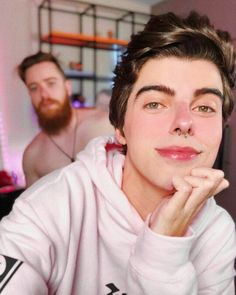 Youtubers, Jeans, Comedy, Fan Art, Face Reference, Two Men, Best Couple, Beautiful People, Wall