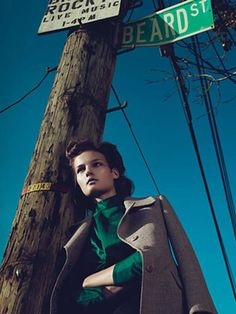 """""""Last Exit to Brooklyn,"""" shot in Red Hook by Mert Alas and Marcus Piggott and styled by Alex White."""