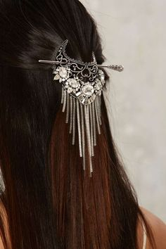 Hang Back Fringe Hair Pin - Accessories | Hair + Hats | Sale: Newly Added | Sale: 30% Off | Jewelry