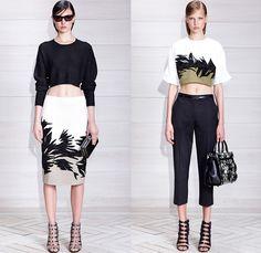 Jason Wu 2014 Resort Womens Presentation - Cruise Collection Pre Spring: Designer Denim Jeans Fashion: Season Collections, Runways, Lookbooks and Linesheets