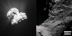 Surprising images from the Rosetta spacecraft show the presence of dune-like patterns on the surface of comet Chury.
