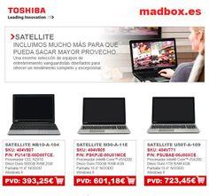 Toshiba Satellite, seguimos de rebajas! http://www.madbox.es/portatil-toshiba-satellite-m50-a-11e-pskpje-00u01mce-594178-p.htm